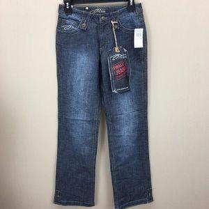 """NWT PZI Jeans Steel Jean sz 4 Dark Wash 29"""" Inseam"""